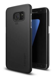 Capa Case Spigen | Samsung Galaxy S7 Edge | Thin Fit Black