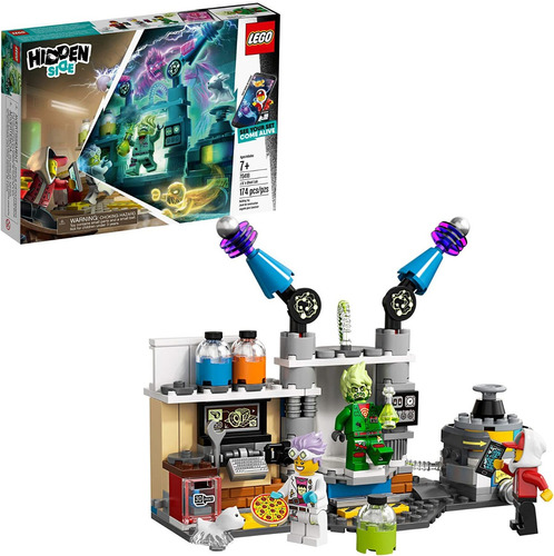Lego Hidden Side, Laboratorio De Fantasmas De J. B. 70418