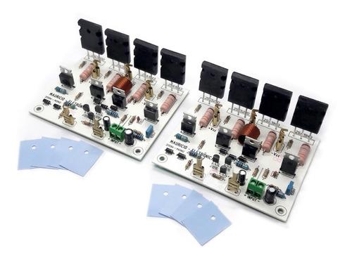 Kit 2 Placas Amplificador 200w Rms ,caixa Ativa,potente.