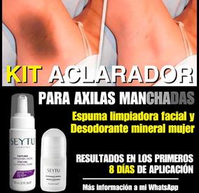 Kit Aclarador De Axilas By Seytu