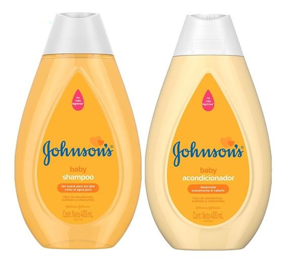 Johnsons Baby Shampoo + Acondicionador Original Nuevo