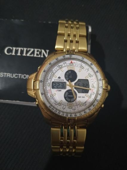 Relógio Citizen Promaster Wingman 100w Masculino - Js1042-56
