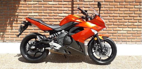 Kawasaki Ninja 650 Naranja Cbr R6 Pista Permuto Qr Motors