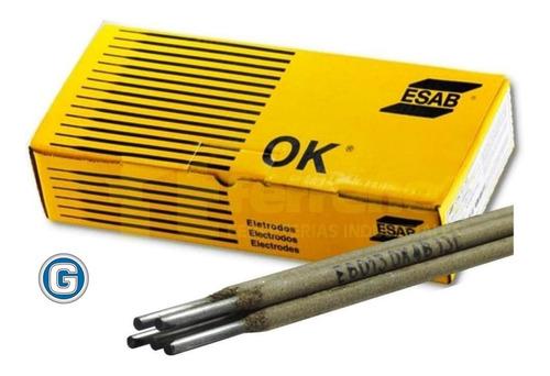 Imagen 1 de 9 de Electrodos Soldar Esab Ok De 2,5 X 20 Kg Conarco Gramabi 13a
