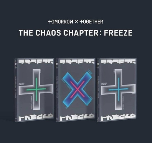 Tomorrow X Together The Chaos Chapter Freeze Cd + Libro
