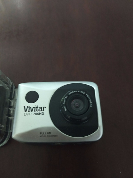 Câmera Filmadora De Ação Vivitar Original Dvr786-hd