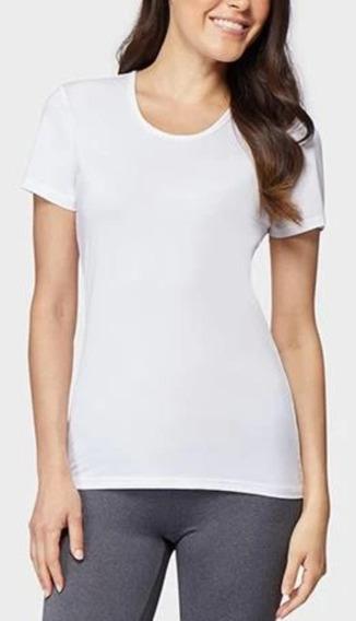 Camisetas 32 Degrees Cool Dama Mujer Pkt2 B/n Talla M
