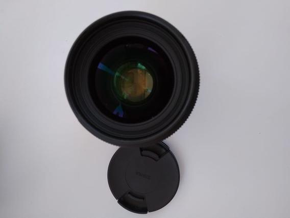 Lente Sigma 35mm Art Canon Usada