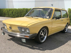 Volkswagen Brasília 1980 Amarela - Corujinha