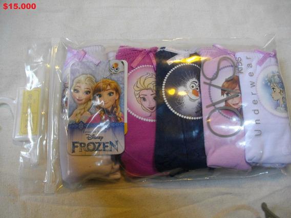 Pack 5 Calzones Frozen Original Disney