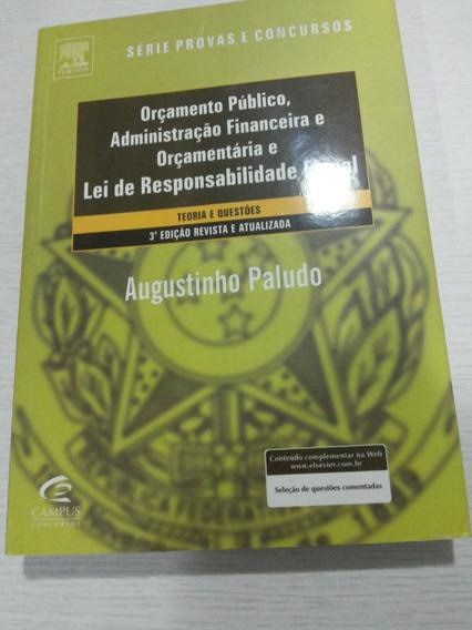 Série Provas & Concursos - Orçamento Público, Afo E Lrf 3 Ed