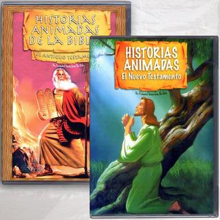 Paq. Historias Animadas El Antiguo Y Nuevo Testamente Dvd