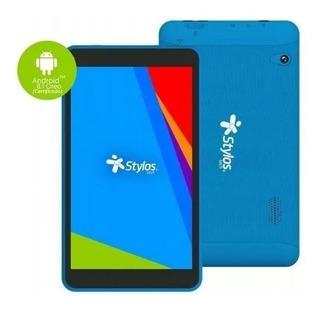 Tablet Stylos Taris Azul Quadcore Sttta85a