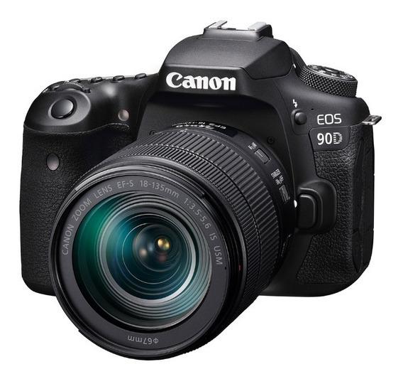 Camara Canon Eos 90d +lente 18-135 Is Usm