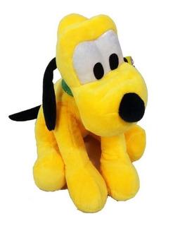 Disney Pluto Muñeco Original Perro Peluche X 35 Cm Grande