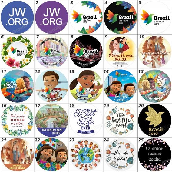 10 Bottons Jw Org Testemunha Jeova Congresso Botons Buttons