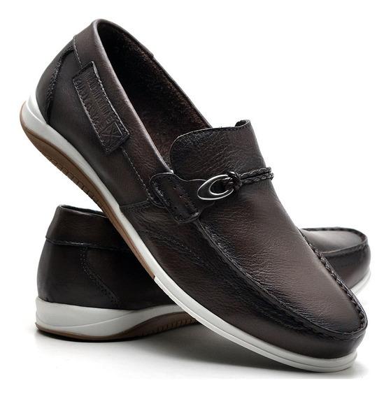 Sapato Casual Infantil Nevano Masculino 5400inf Marrom