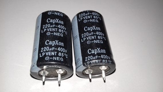 Capacitor Snap-in Capxon 220uf 400v 85ºc