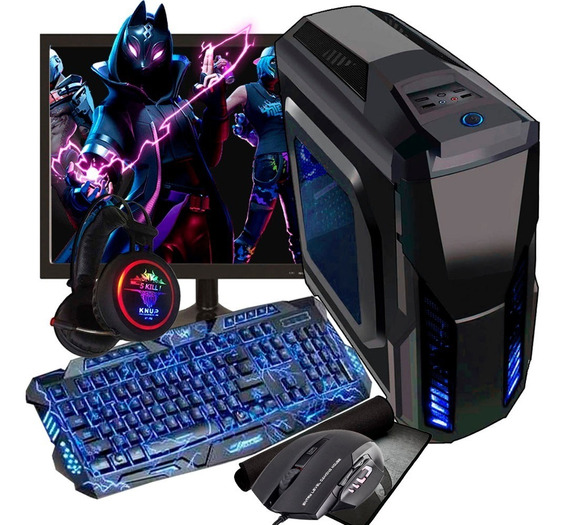 Pc Gamer I5 Hight 500gb Gtx 1050 2gb + Monitor + Kit Gamer