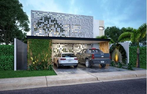 Casa Nueva En Venta En Privada Con Amenidades, Tamora, Lote 150, Conkal, Mérida