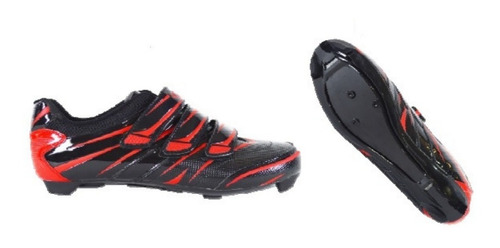 Zapatillas De Ciclismo Ruta Con Velcros Talles 35 Al 45