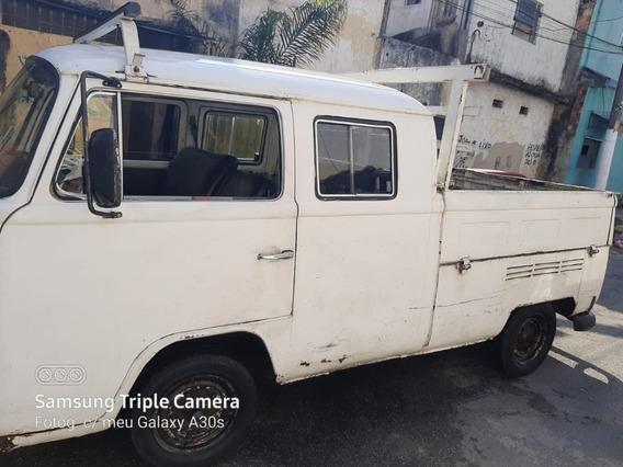 Volkswagen Kombi Cabine Dupla Com Carroceria 1981
