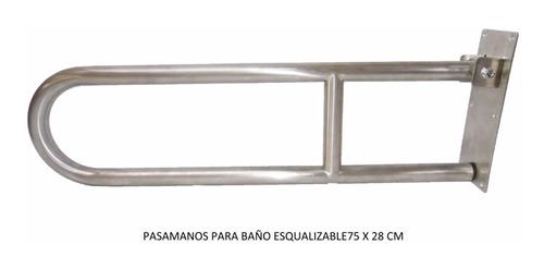 Barra De Seguridad Para Discapacitados Ecualizable En Acero