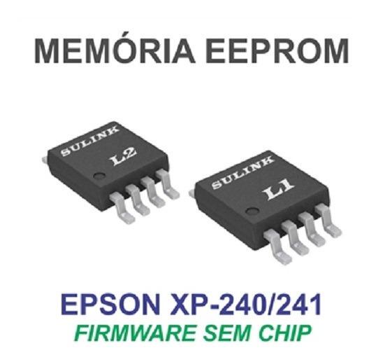 Placa + Eprom Desbloqueada Xp-241! Bulk!