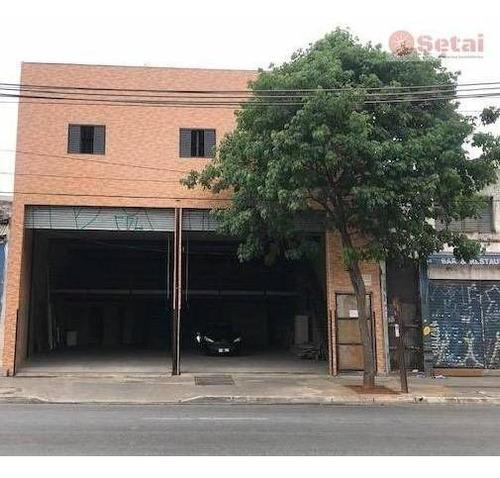 Galpão Comercial Para Venda E Locação, Brás, São Paulo. - Ga0003