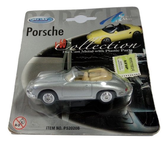 Welly Porsche 1/60 Die- Cast Dc