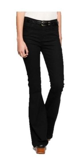 Maria Cher Pantalon Oxford Jim Negro Nueva Coleccion
