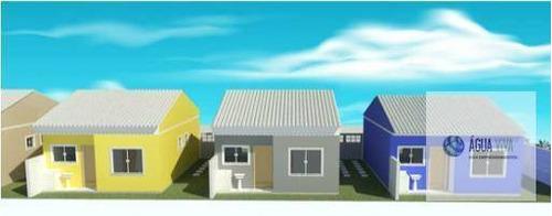 Casa Lado Praia 02 Quartos - A Vista 195 Mil - Unamar/cabo Frio - Ca0141