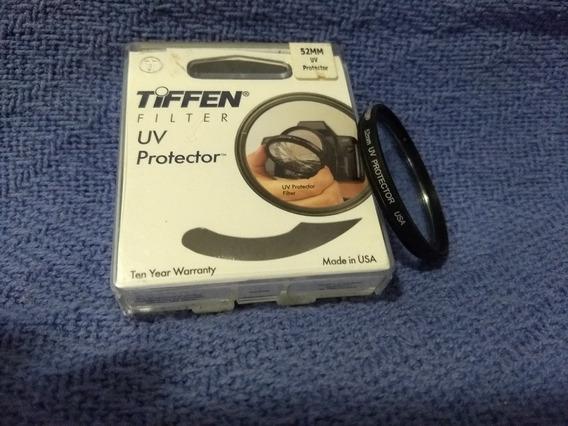 Filtro Uv De Protecão Tiffen- 52 Mm Importado.