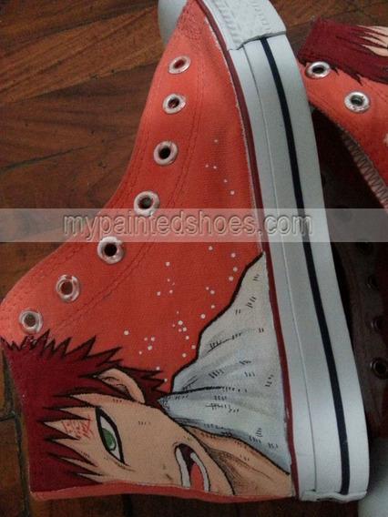 Zapatos Gaara Boruto Marca Collec Diseño Hecho A Mano