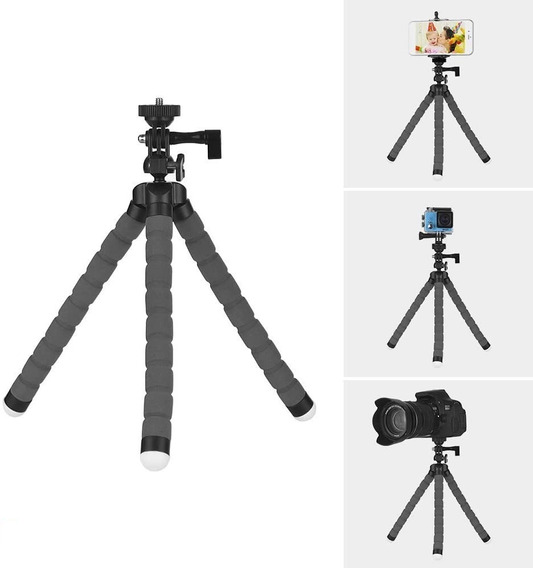 Mini Tripé De Mesa Para Smartphones E Câmeras Pronta Entrega