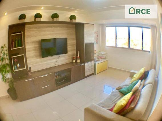 Apartamento Com 3 Dormitórios À Venda, 92 M² Por R$ 399.000 - Lagoa Nova - Natal/rn - Ap0192