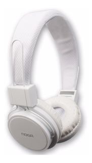 Auricular Noganet Ng-55bt Negro Plegable Bluetooth