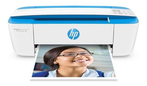 Impressora Hp Multifuncional Color Deskjet 3775 Wi