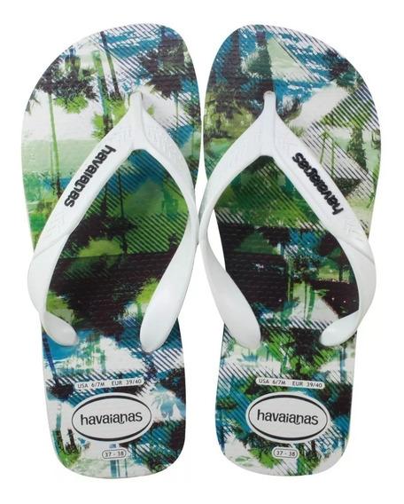 Chinelo Havaianas Surf Praia Natureza Tam. 35/36 - 37/38