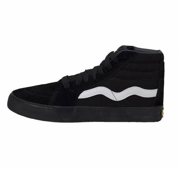 Tênis Dança Sneakers Mad Rats Hi Top Preto Skate Cano Alto