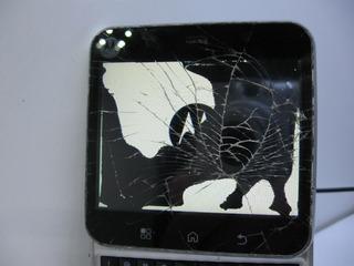Celular Motorola Flipout Mb511 Funcionando, Tela E Touch Quebrados!