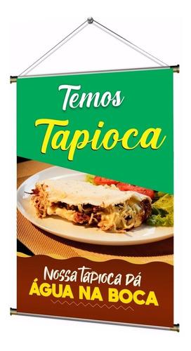 Banner Pronto Temos Tapioca