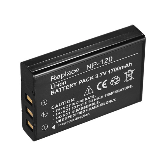 Np -120 Recarregável Bateria Poder Backup Substituição 1700m