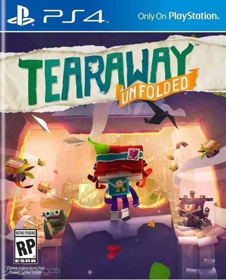 Tearaway Unfolded Midia Digital Original Ps4 1