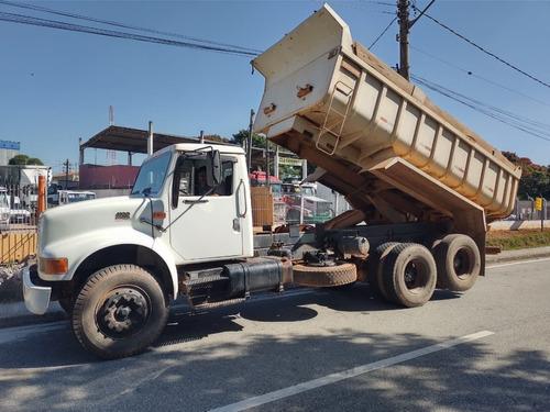 Imagem 1 de 15 de Caminhao Truck Caçamba Basculante 10m