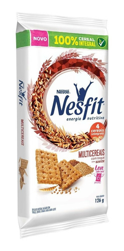 Biscoito Nesfit Multicereais 6 Saches 21g