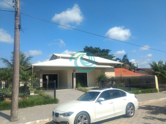 Linda Casa Em Balneário Barra Do Sul - Sc A 150 Metros Do Mar - 2110