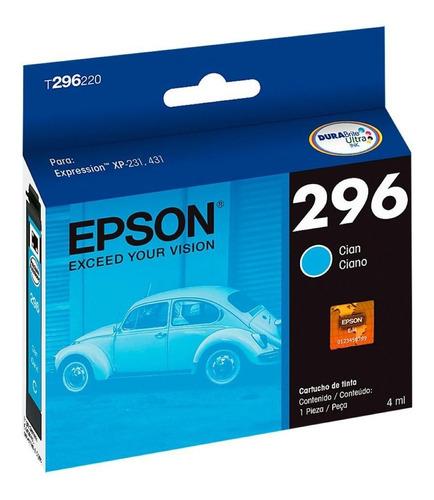 Imagen 1 de 1 de Cartucho Epson T296 Color Original Xp231 Xp431 296 Cada Uno