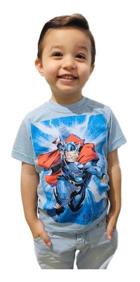 Kit 10 Camiseta Infantil Personagens, Super Heróis + Brindes