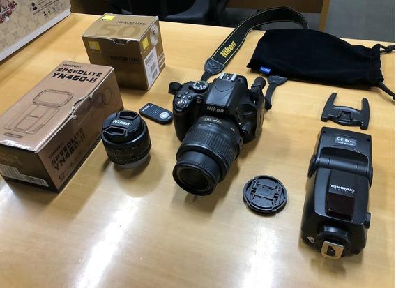 Câmera Digital Nikon D5100 Lente Nikkor 18-55mm + 50mm